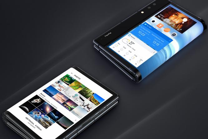 Hãng điện thoại Trung Quốc vượt mặt Samsung, LG ra mắt điện thoại dẻo uốn gập đầu tiên trên thế giới, màn hình 7,8 inch, giá 1.300 USD ảnh 1