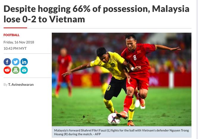 Báo chí Malaysia viết gì về trận thua trước đội tuyển Việt Nam? ảnh 2