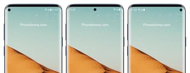 """Galaxy M2 sẽ là mẫu điện thoại khởi đầu cho xu thế màn hình """"nốt ruồi"""" của Samsung ảnh 1"""
