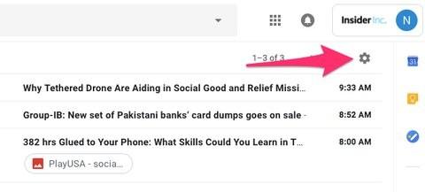 Nếu bạn ghét giao diện mới của Gmail, đây là cách để trở về giao diện cũ ảnh 1