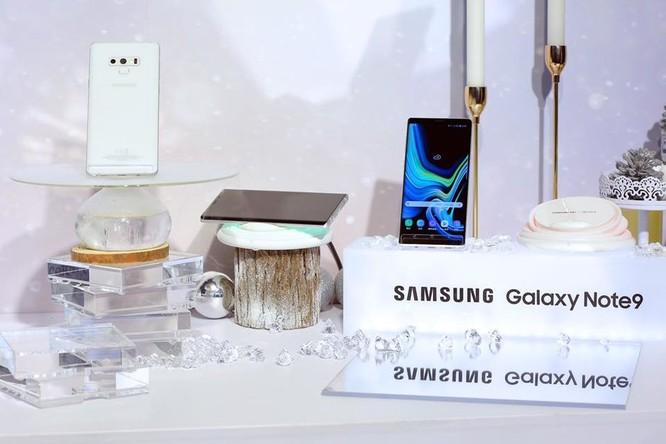 """Samsung ra mắt Galaxy Note 9 phiên bản """"Tuyết đầu mùa"""" ảnh 1"""