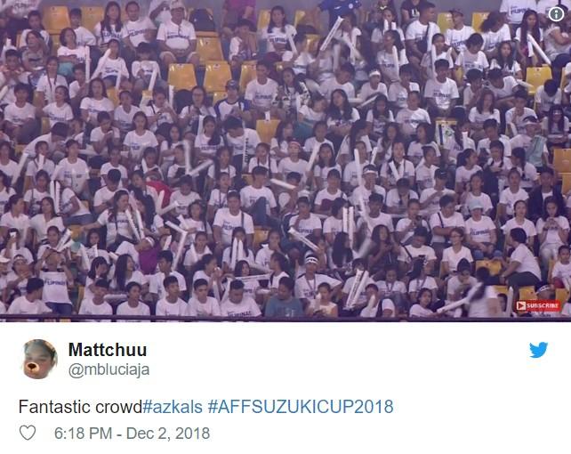 Người hâm mộ bóng đá Philippines lên Twitter ăn mừng dù thua Việt Nam ảnh 8
