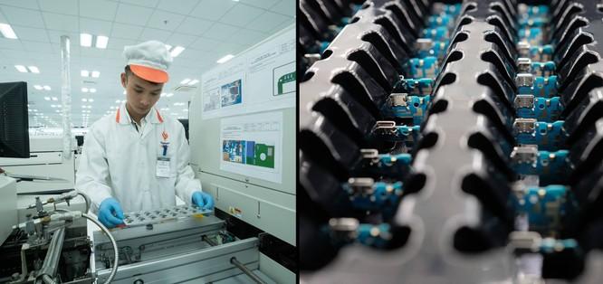 Chiêm ngưỡng hệ thống robot tại nhà máy sản xuất điện thoại VSmart ảnh 4