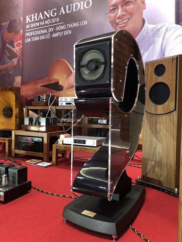 Hệ thống Audio hand-made của Khang Audio gây ấn tượng mạnh tại AV Show Hà Nội 2018 ảnh 2