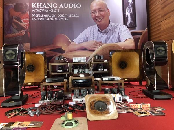 Hệ thống Audio hand-made của Khang Audio gây ấn tượng mạnh tại AV Show Hà Nội 2018 ảnh 6
