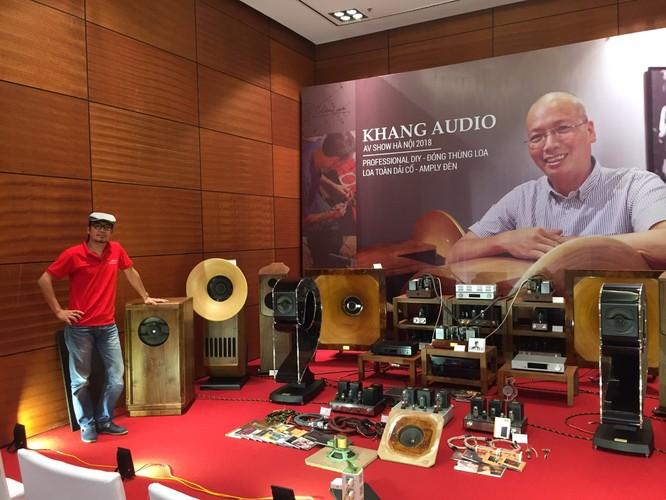 Hệ thống Audio hand-made của Khang Audio gây ấn tượng mạnh tại AV Show Hà Nội 2018 ảnh 8