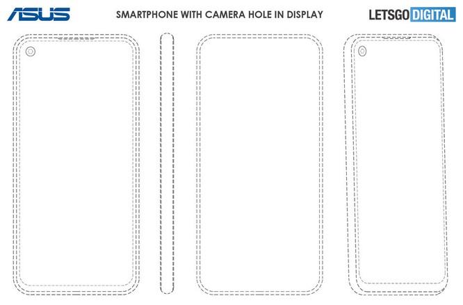 Điện thoại Asus sẽ có thiết kế camera thò thụt và khoét lỗ màn hình ảnh 2