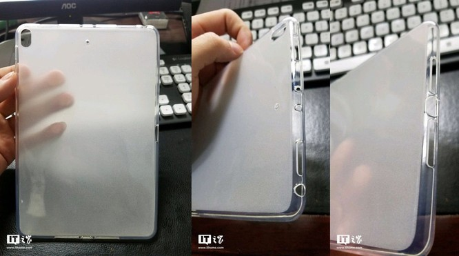 Thiết kế iPad mini 5 được hé lộ qua một chiếc ốp lưng silicon ảnh 1