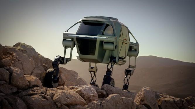Hyundai ra mắt mẫu xe hơi có 4 chân nhìn giống như côn trùng ảnh 2