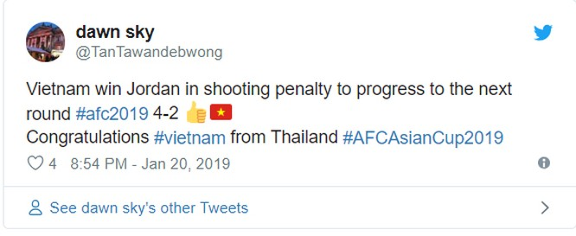 Bạn bè quốc tế nói gì về chiến thắng của đội tuyển Việt Nam trước Jordan? ảnh 10