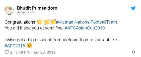 Bạn bè quốc tế nói gì về chiến thắng của đội tuyển Việt Nam trước Jordan? ảnh 5