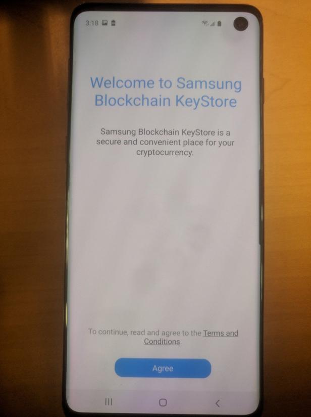 Phát hiện mới: Samsung Galaxy S10 hỗ trợ Blockchain ảnh 1