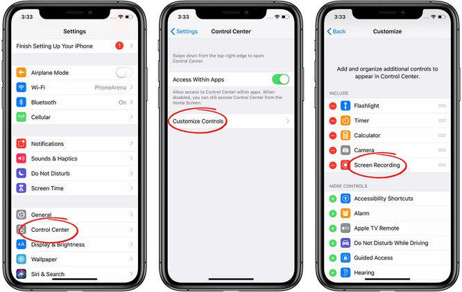 Mách bạn 3 bước để ghi màn hình iPhone và iPad ảnh 1