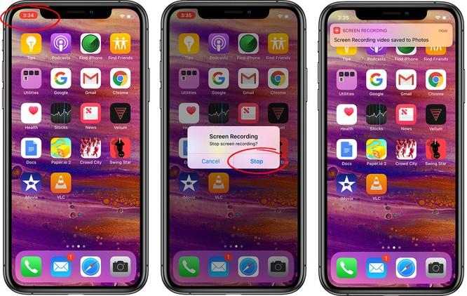 Mách bạn 3 bước để ghi màn hình iPhone và iPad ảnh 3