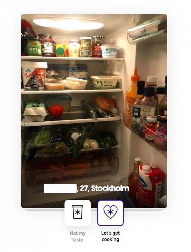 Samsung tung ra ứng dụng giúp người độc thân tìm bạn đời qua... tủ lạnh ảnh 2