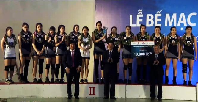 Thi đấu đầy nỗ lực, Thông tin LienVietPostBank giành ngôi Á quân Cúp bóng chuyền nữ Quốc tế LienVietPostBank 2019 ảnh 3