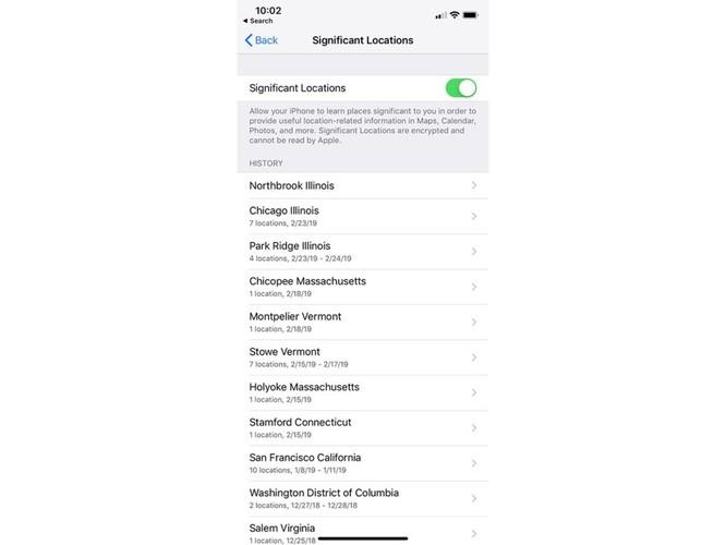 iPhone lưu trữ một danh sách chi tiết về những địa điểm bạn đã đi và đến – Cách xóa và tắt tính năng này mãi mãi ảnh 6