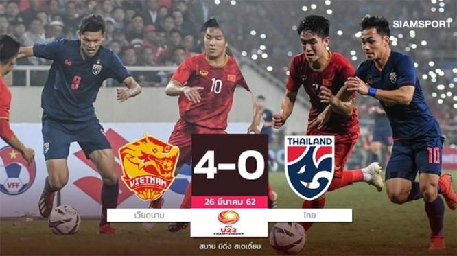 Báo chí và người hâm mộ Thái Lan nói gì về trận thua thảm trước U23 Việt Nam? ảnh 1