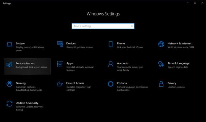 Cách bật chế độ tối cho đỡ hại mắt trong Windows 10, Microsoft Edge và Office ảnh 1