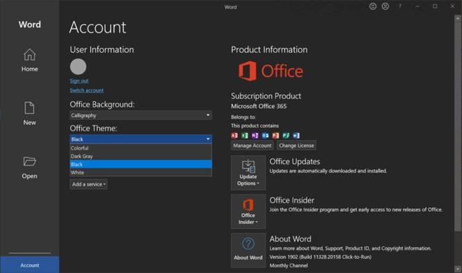 Cách bật chế độ tối cho đỡ hại mắt trong Windows 10, Microsoft Edge và Office ảnh 6