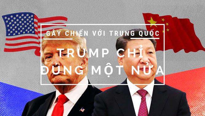 Thương chiến Mỹ - Trung: Ông Trump chỉ đúng một nửa ảnh 1