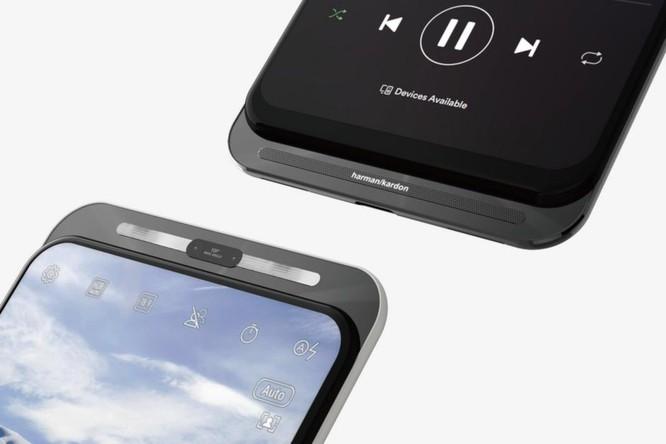 Hình ảnh render cho thấy Asus đã tìm ra một giải pháp mới cho smartphone màn hình không tai thỏ, không nốt ruồi ảnh 1