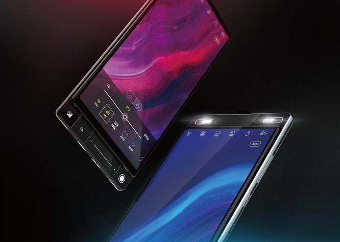 Hình ảnh render cho thấy Asus đã tìm ra một giải pháp mới cho smartphone màn hình không tai thỏ, không nốt ruồi ảnh 2