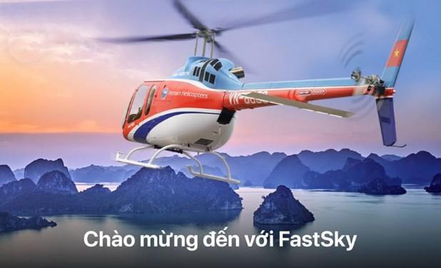 Đặt được máy bay trực thăng qua ứng dụng gọi xe FastGo ảnh 1