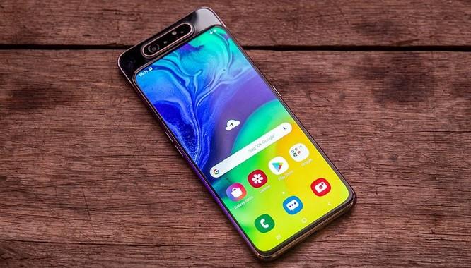 Samsung Galaxy A80 chính thức ra mắt: màn hình Vô cực kiểu mới, camera đa chức năng xoay lật độc đáo ảnh 1