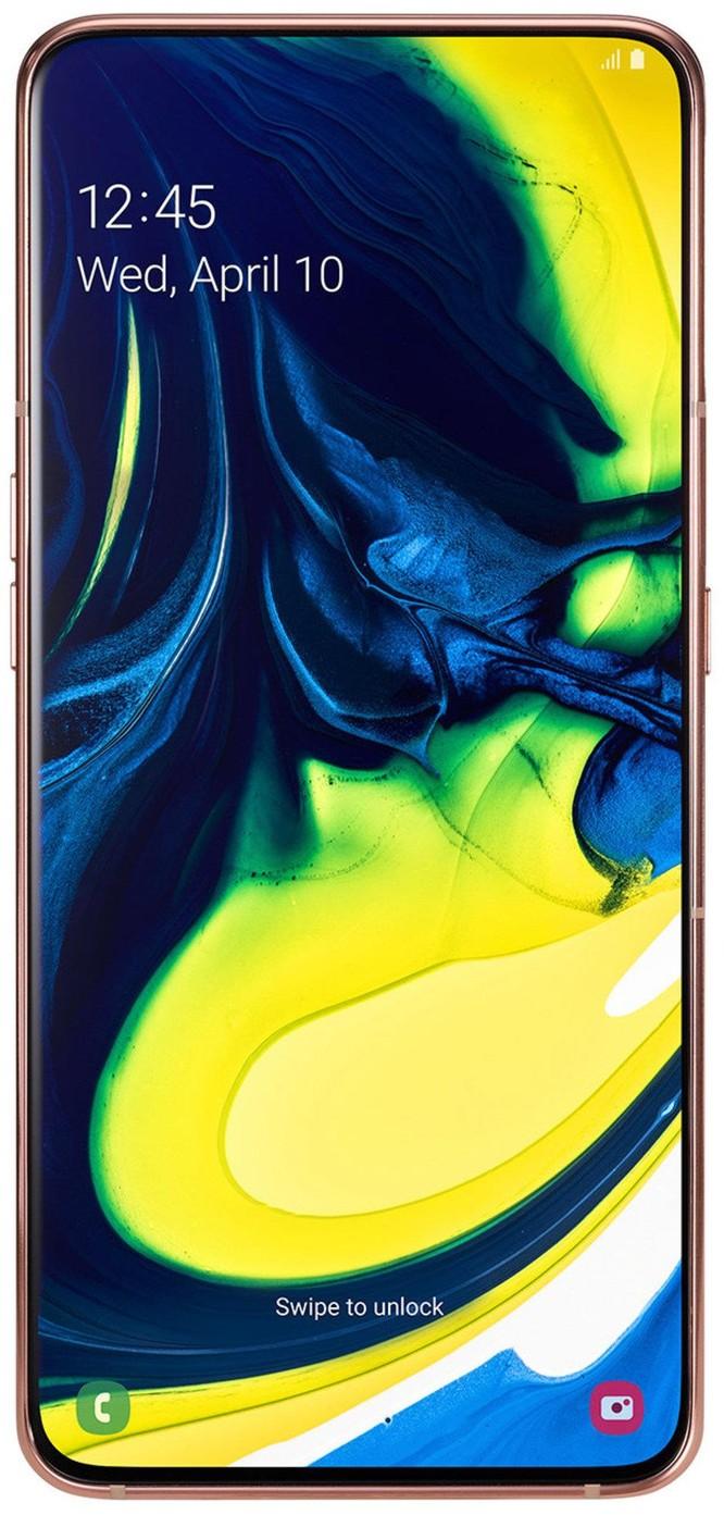 Samsung Galaxy A80 chính thức ra mắt: màn hình Vô cực kiểu mới, camera đa chức năng xoay lật độc đáo ảnh 2