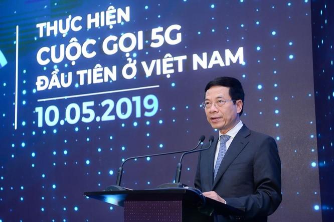 Cuộc gọi qua mạng di động 5G vừa được thực hiện lần đầu tiên tại Việt Nam ảnh 1