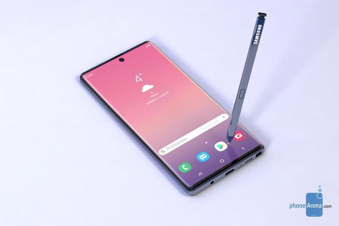 Hình ảnh rò rỉ cho thấy Galaxy Note 10 có một thiết kế khá mới mẻ ảnh 1