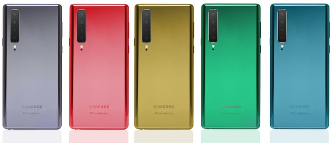 Samsung Galaxy Note 10 có bộ vỏ cầu vồng và thiết kế sang chảnh ảnh 3