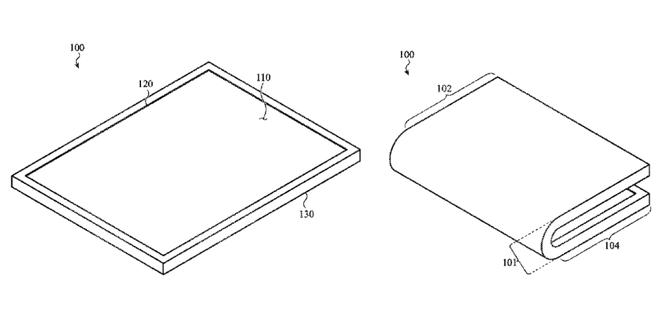 Rò rỉ bằng sáng chế cho chúng ta hình dung về iPhone uốn gập của Apple ảnh 2