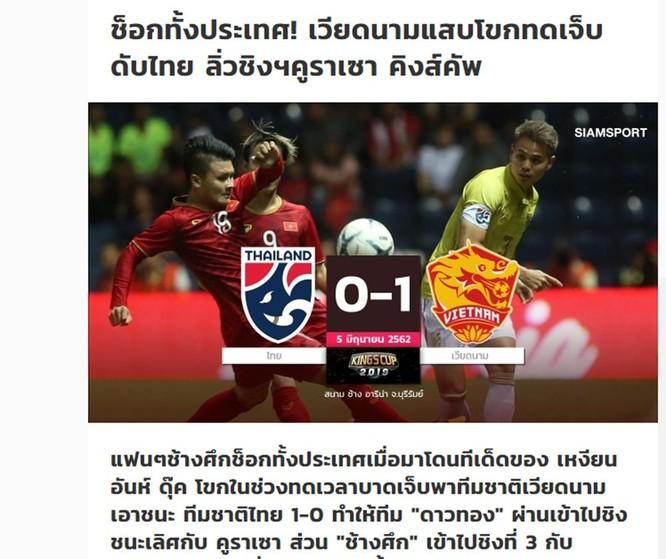 Báo chí và người hâm mộ Thái Lan nói gì về trận thua trước Việt Nam? ảnh 1
