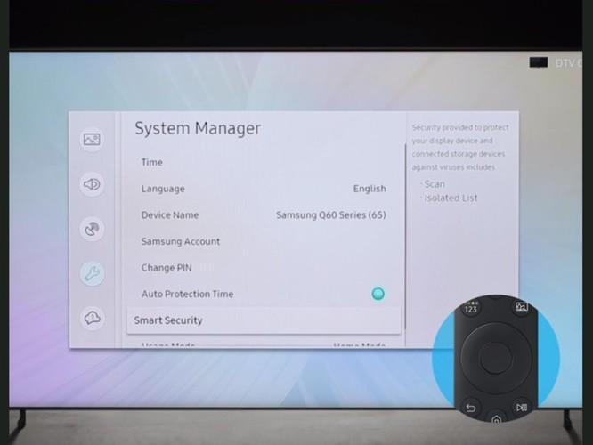 Samsung nói rằng tivi của bạn cũng có thể bị nhiễm virus giống như máy tính - Cách quét tìm virus trên tivi ảnh 4