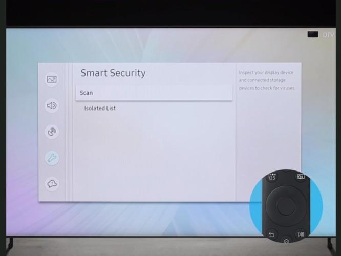 Samsung nói rằng tivi của bạn cũng có thể bị nhiễm virus giống như máy tính - Cách quét tìm virus trên tivi ảnh 5