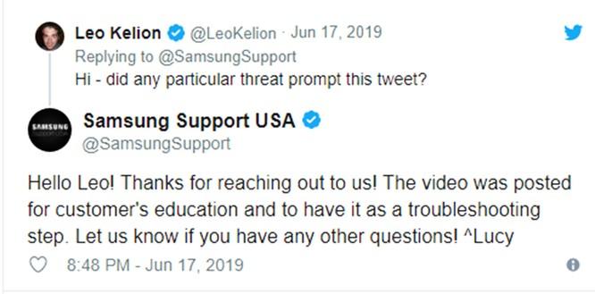 Samsung nói rằng tivi của bạn cũng có thể bị nhiễm virus giống như máy tính - Cách quét tìm virus trên tivi ảnh 1