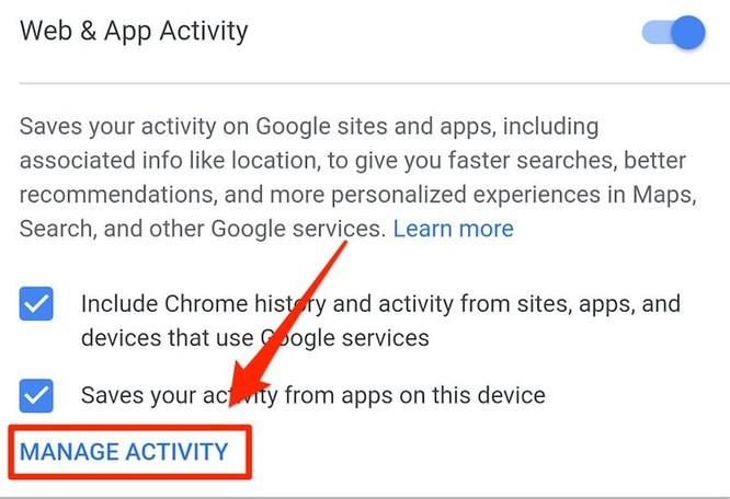 Cách xóa tự động dữ liệu vị trí của bạn trên ứng dụng của Google ảnh 10