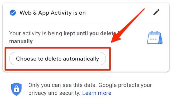 Cách xóa tự động dữ liệu vị trí của bạn trên ứng dụng của Google ảnh 11