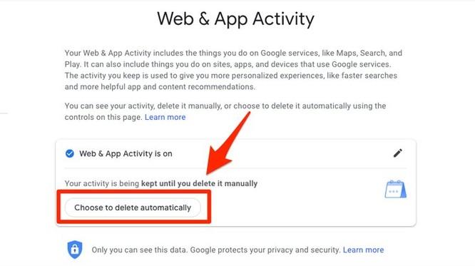 Cách xóa tự động dữ liệu vị trí của bạn trên ứng dụng của Google ảnh 4