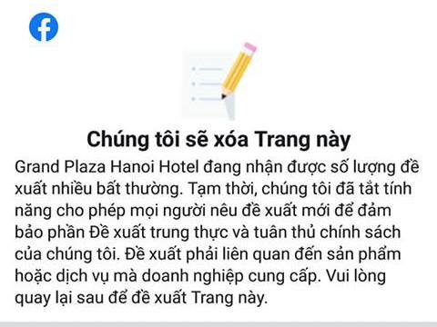KS Grand Plaza Hà Nội bị người dùng mạng xã hội đồng loạt chấm 1 sao sau sự việc quản lý KS xua đuổi phụ nữ và trẻ em đứng tránh trú dông lốc ảnh 5
