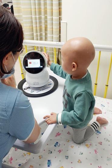 LG đưa robot Cloi vào bệnh viện để trẻ em giải trí ảnh 1