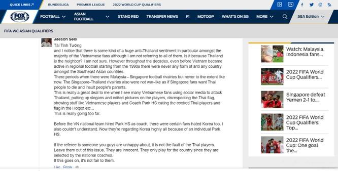"""Fan quốc tế: """"Với một chút thành công gần đây, fan Việt Nam đang kiêu ngạo"""" ảnh 1"""
