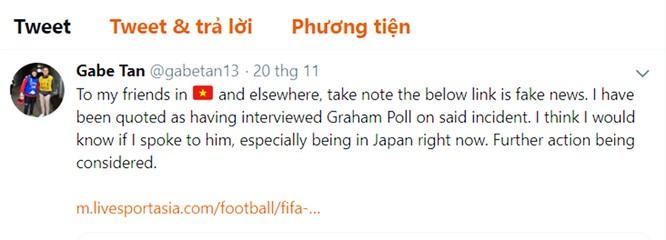 VietTimes cáo lỗi với bạn đọc về bài viết đề cập đến trọng tài Graham Poll ảnh 2