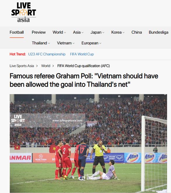 VietTimes cáo lỗi với bạn đọc về bài viết đề cập đến trọng tài Graham Poll ảnh 1