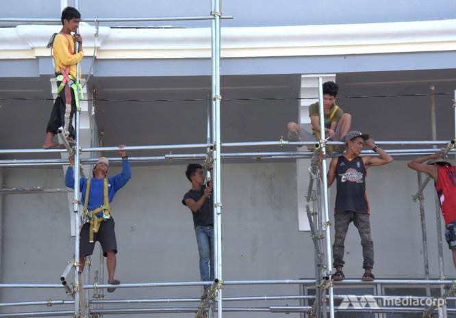 Nước chủ nhà Philippines lên tiếng giải thích về toilet không có vách ngăn, phòng họp báo như nhà kho và luộm thuộm trong khâu tổ chức ảnh 2