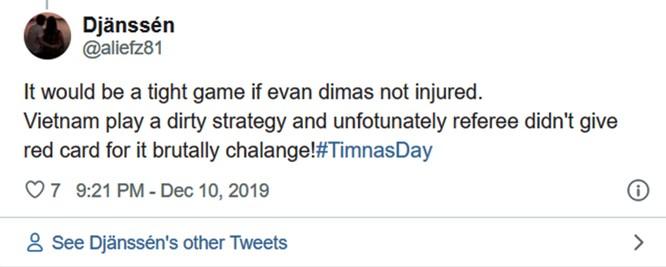 """Thất vọng vì thua đậm, người hâm mộ Indonesia cáo buộc Việt Nam có """"chiến thuật bẩn"""" để giành huy chương vàng bóng đá SEA Games ảnh 7"""