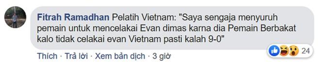 """Thất vọng vì thua đậm, người hâm mộ Indonesia cáo buộc Việt Nam có """"chiến thuật bẩn"""" để giành huy chương vàng bóng đá SEA Games ảnh 2"""
