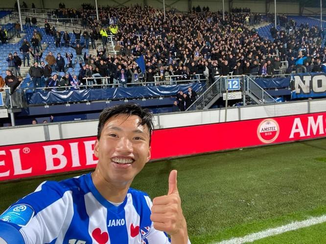 Đoàn Văn Hậu lần đầu tiên được thi đấu cho đội 1 SC Heerenveen ảnh 6